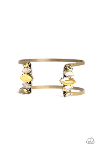 Paparazzi Accessories - Glam Power - Brass Bracelet