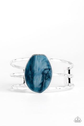 Paparazzi Accessories - Canyon Dream - Blue Bracelet - JMJ Jewelry Collection
