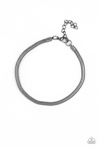 Paparazzi Accessories - Winning - Black Bracelet