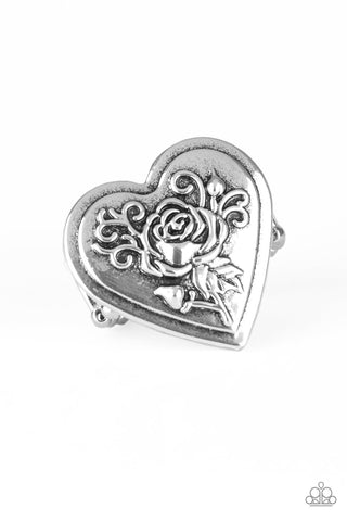Paparazzi Accessories - Beloved Bloom - Silver Ring