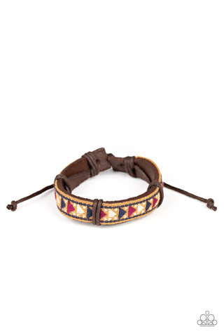 Paparazzi Accessories - The Alpinist - Multicolor Bracelet