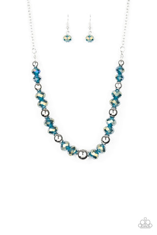 Paparazzi Accessories - Jewel Jam - Blue Necklace Set
