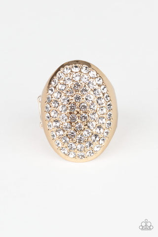Paparazzi Accessories - Bling Scene - Gold Ring