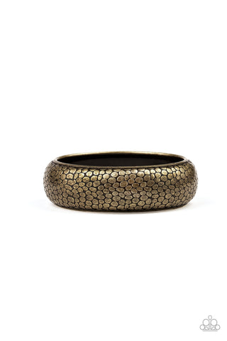 Paparazzi Accessories - Urban Wildlife - Brass Bracelet