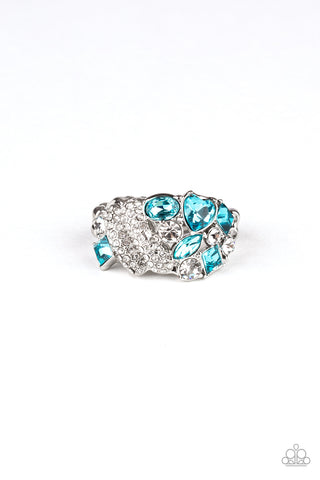 Paparazzi Accessories - Sparkle Bust - Blue Ring