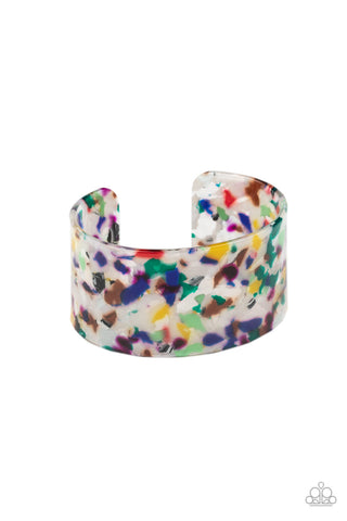 Paparazzi Accessories - Freestyle Fashion - Multicolor Earrings