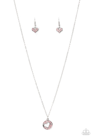 Paparazzi Accessories - Bare Your Heart - Pink Necklace