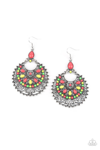 Paparazzi Accessories - Laguna Leisure - Multicolor Earrings