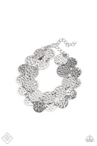 Paparazzi Accessories - Rooted To The SPOTLIGHT - Silver Bracelet