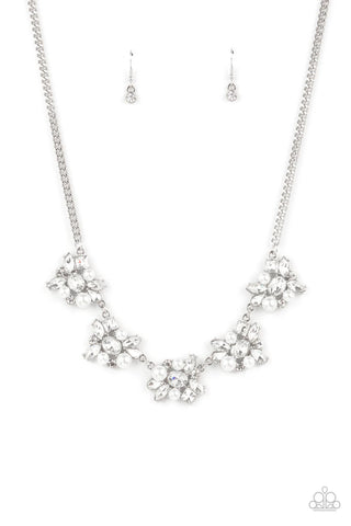 Paparazzi Accessories - HEIRESS of Them All - White Necklace