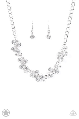 Paparazzi Accessories - Hollywood Hills - White Necklace Set - JMJ Jewelry Collection