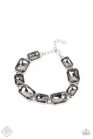 Paparazzi Accessories - After Hours - Silver Bracloop lelet