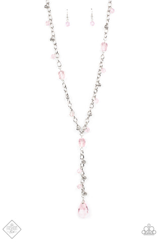 Paparazzi Accessories - Afterglow Party - Pink Necklace