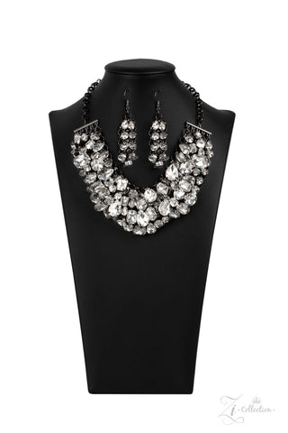 Paparazzi Accessories - Ambitious - White Necklace Set