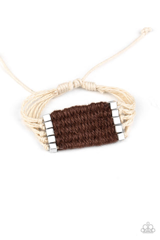 Paparazzi Accessories - Beachology - Brown Bracelet