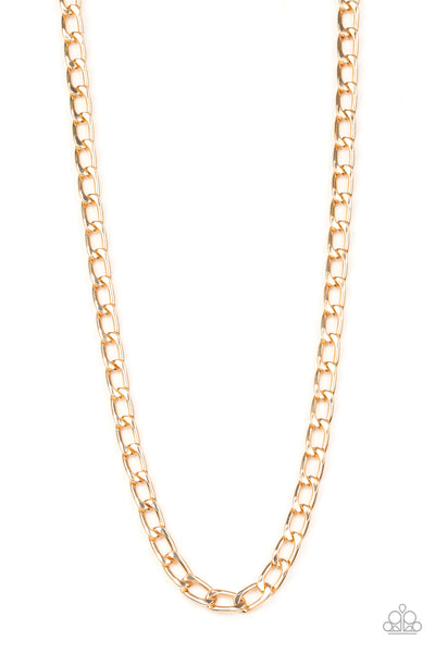Paparazzi Accessories - Big Win - Gold Necklace