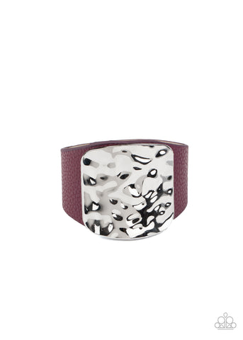 Paparazzi Accessories - Brighten Up - Purple Bracelet