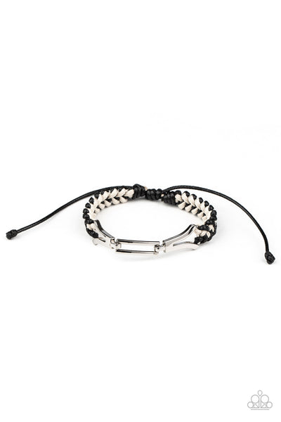 Paparazzi Accessories - Bungee Bungalow - Black Bracelet