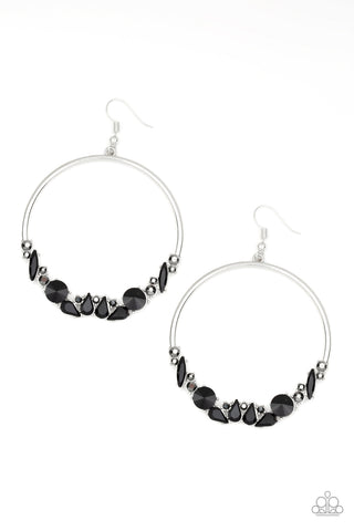 Paparazzi Accessories - Business Casual - Black Earrings