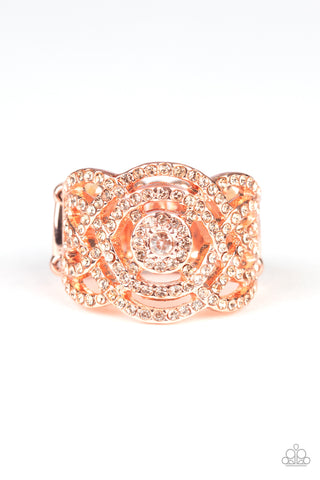 Paparazzi Accessories - COUNTESS To Ten - Copper Ring