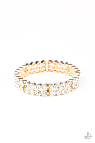 Paparazzi Accessories - Come and Get It! - Gold Bracelet