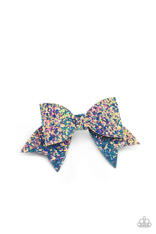 Paparazzi Accessories - Confetti Princess - Multicolor Hair Clip