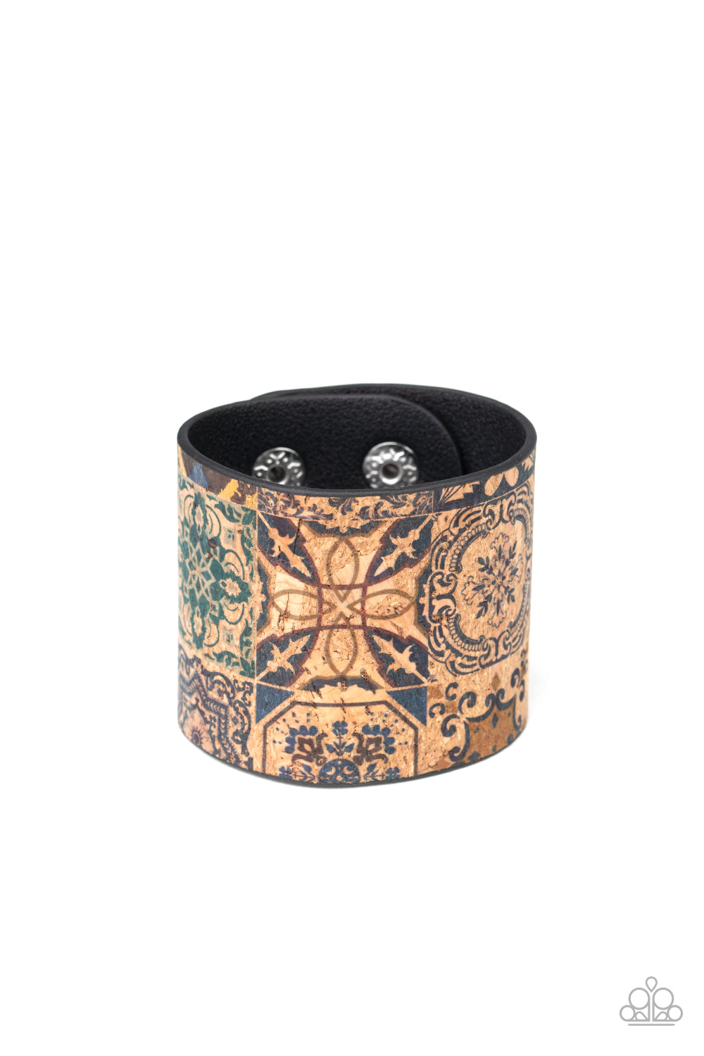 Paparazzi Accessories - Cork Culture - Multicolor Bracelet