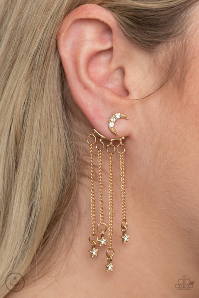 Paparazzi Accessories - Cosmic Goddess - Gold Earrings
