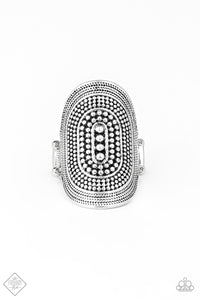 Paparazzi Accessories - Dotted Decor - Silver Ring