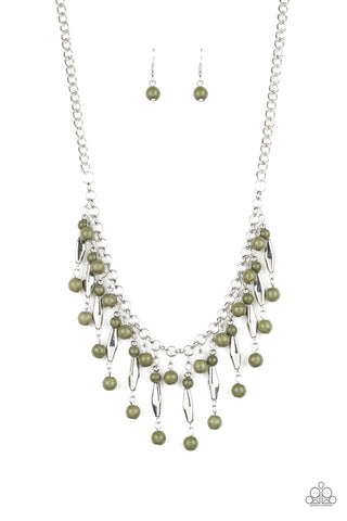 Paparazzi Accessories - Earth Conscious - Green Necklace