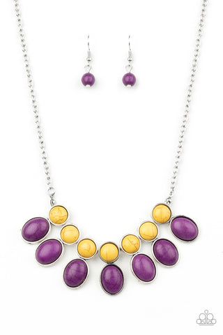 Paparazzi Accessories - Environmental Impact - Purple Necklace