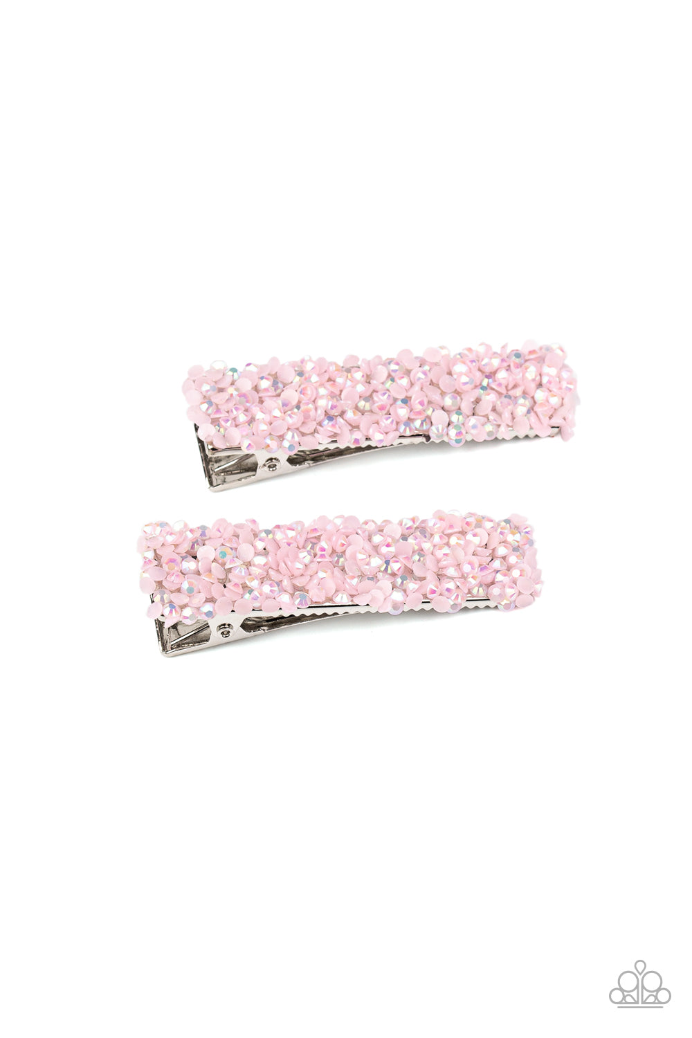 Paparazzi Accessories - HAIR Comes Trouble - Pink Hair Clip