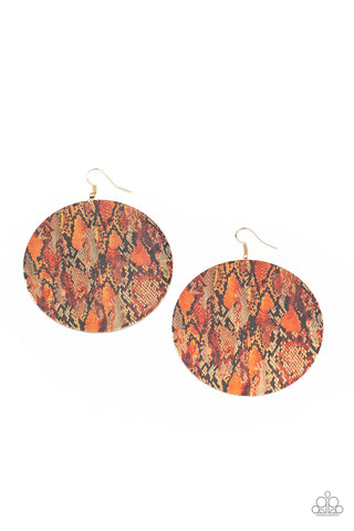 Paparazzi Accessories - I'm Only Animal - Multicolor Earrings