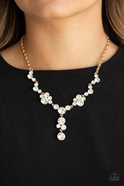 Paparazzi Accessories - Inner Light - Gold Necklace