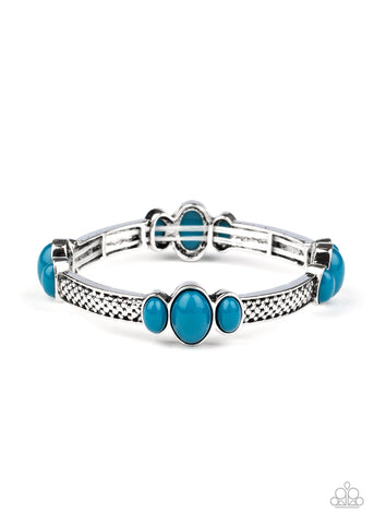 Paparazzi Accessories - Instant Zen - Blue Bracelet