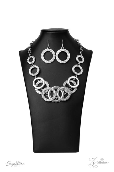 Paparazzi Accessories - The Keila - White Necklace