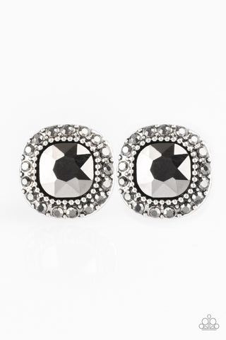 Paparazzi Accessories - Latest Luxury - Silver Earrings