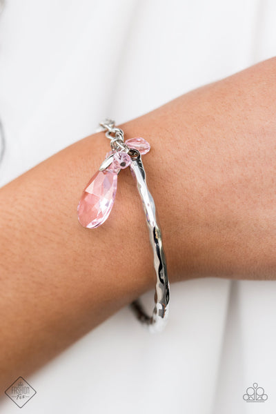 Paparazzi Accessories - Let Yourself GLOW - Pink Bracelet