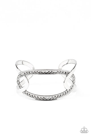 Paparazzi Accessories - Never A Dull Moment - Silver Bracelet