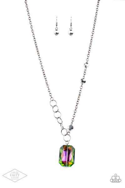 Paparazzi Accessories - Never a Dull Moment - Multicolor Necklace