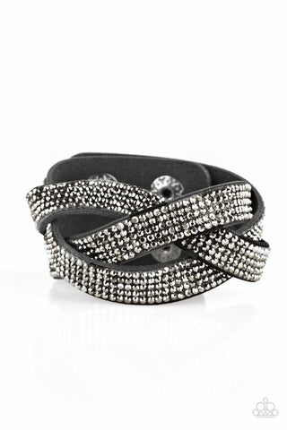 Paparazzi Accessories - Nice Girls Finish Last - Black Bracelet