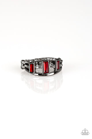 Paparazzi Accessories - Noble Nova - Red Ring