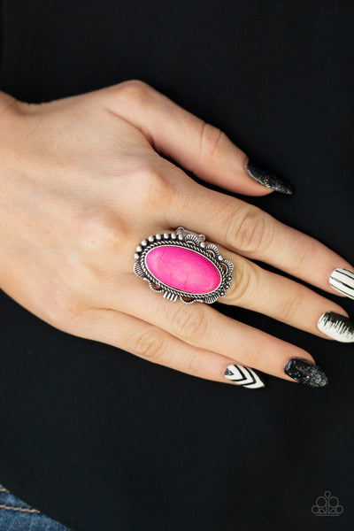 Paparazzi Accessories - Open Range - Pink Ring