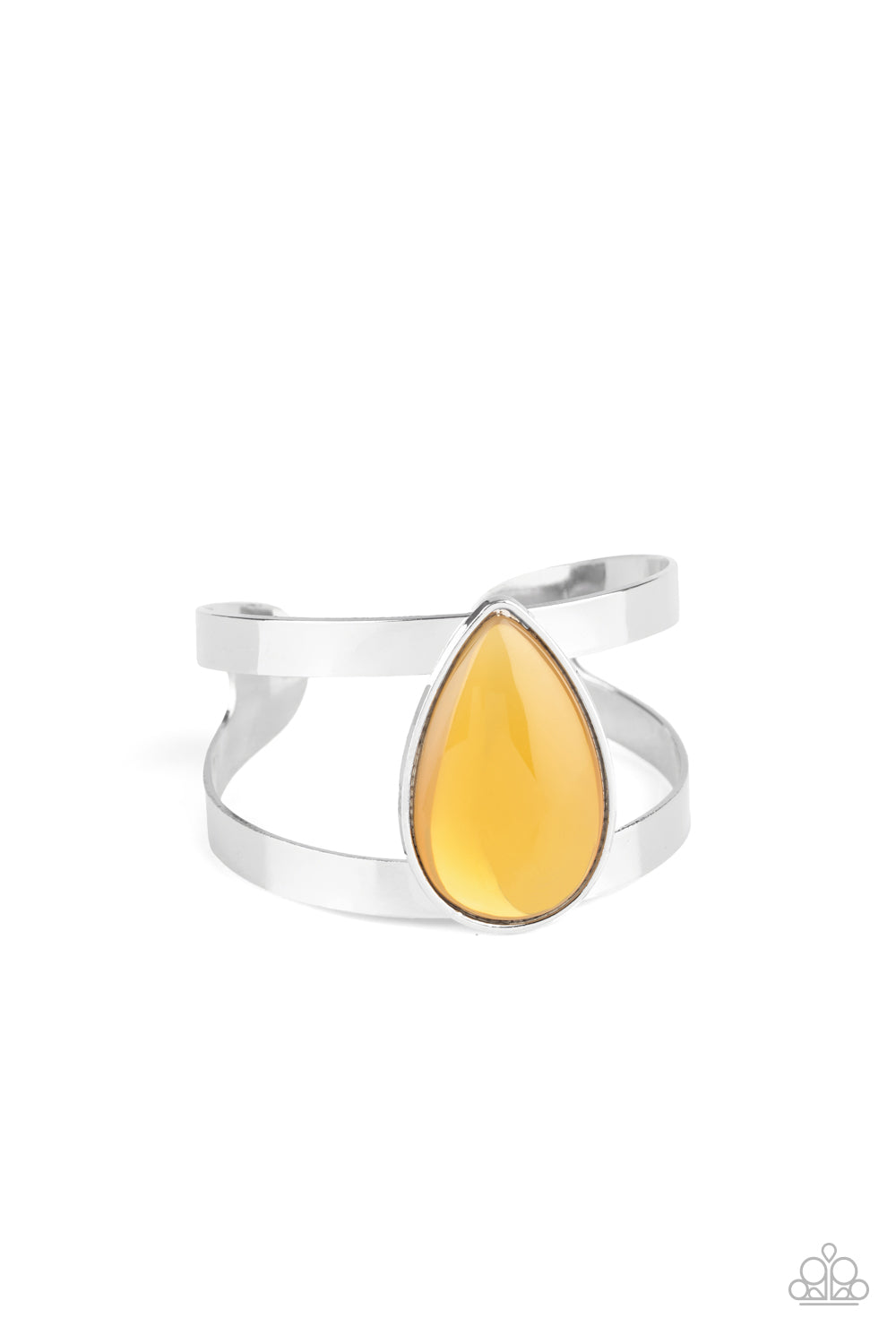 Paparazzi Accessories - Optimal Opalescence - Yellow Bracelet