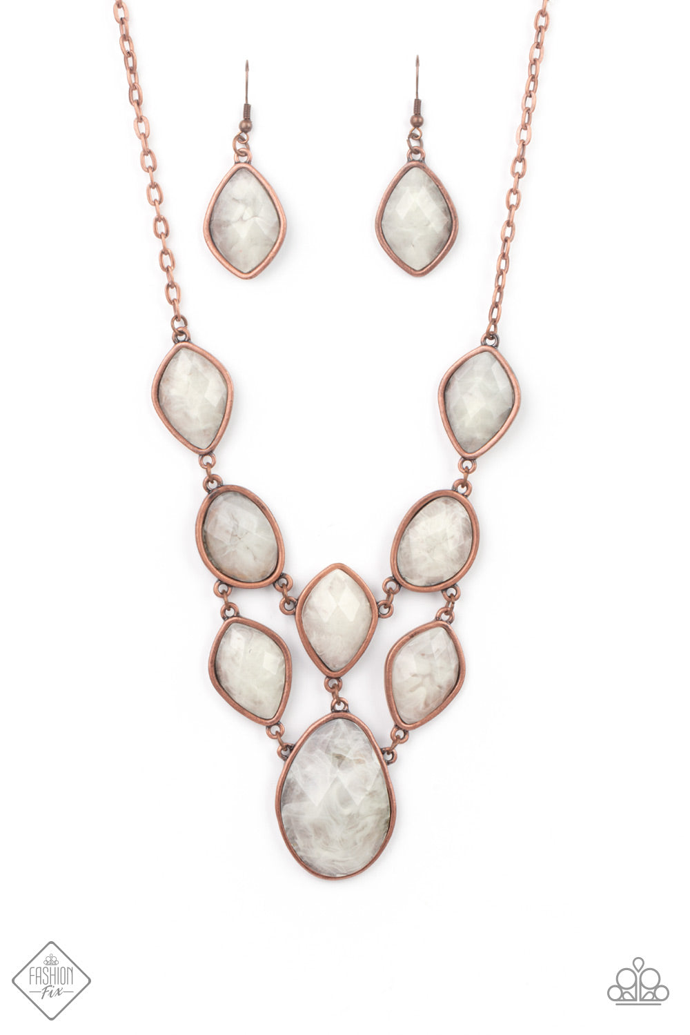 Paparazzi Accessories - Opulently Oracle - Copper Necklace