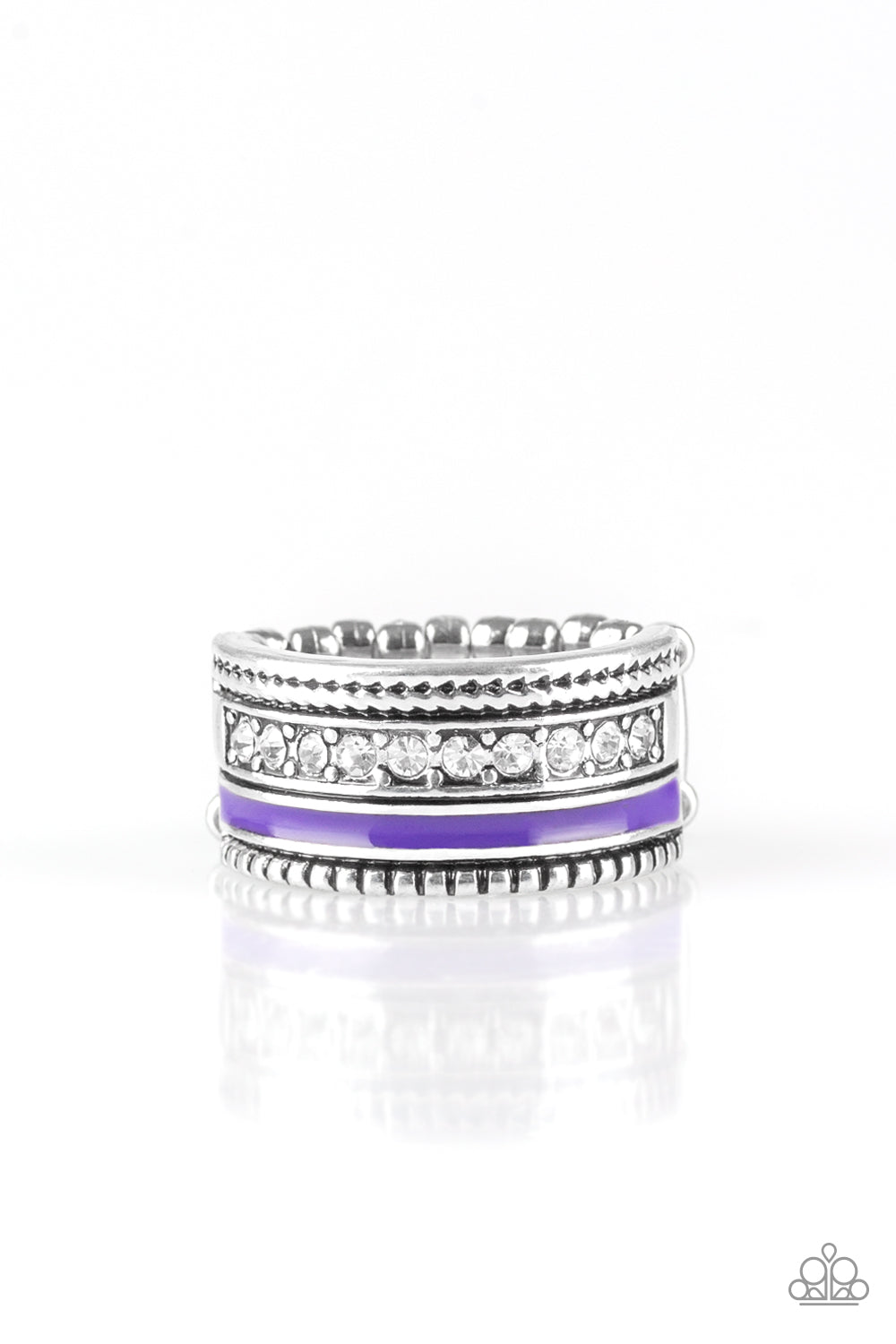 Paparazzi Accessories - Rich Rogue - Purple Ring