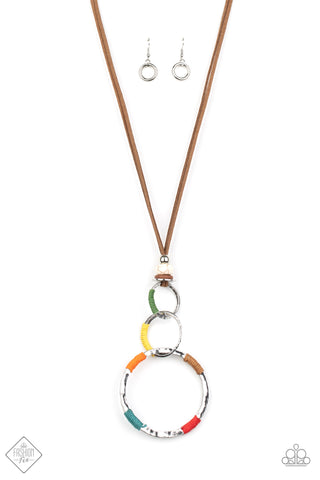 Paparazzi Accessories - Rural Renovation - Multicolor Necklace