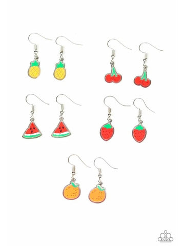 Paparazzi Accessories - Starlet Shimmer - Fresh Fruit Earrings