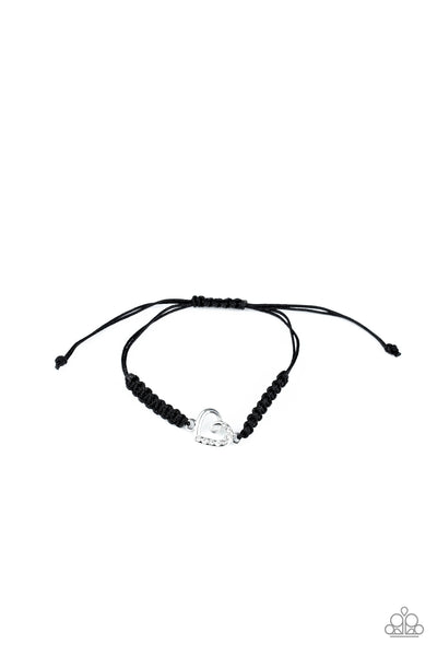 Paparazzi Accessories - Starlet Shimmer - Braided Heart Bracelets