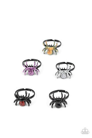 Paparazzi Accessories - Starlet Shimmer - Holloween Spider Rings